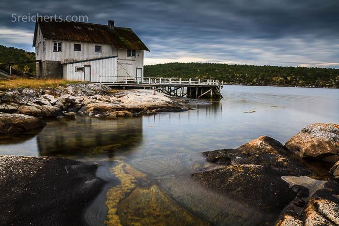 Die verlassene Fischfabrik