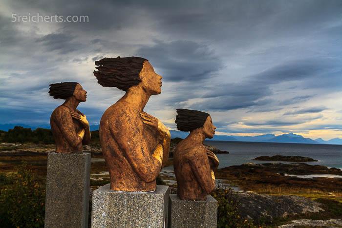 Skulpturlandskap in Tranøy
