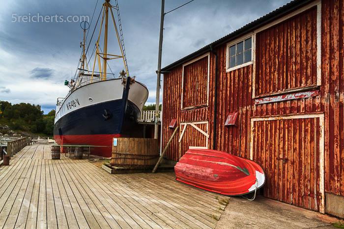 Im Hafen von Tranøy