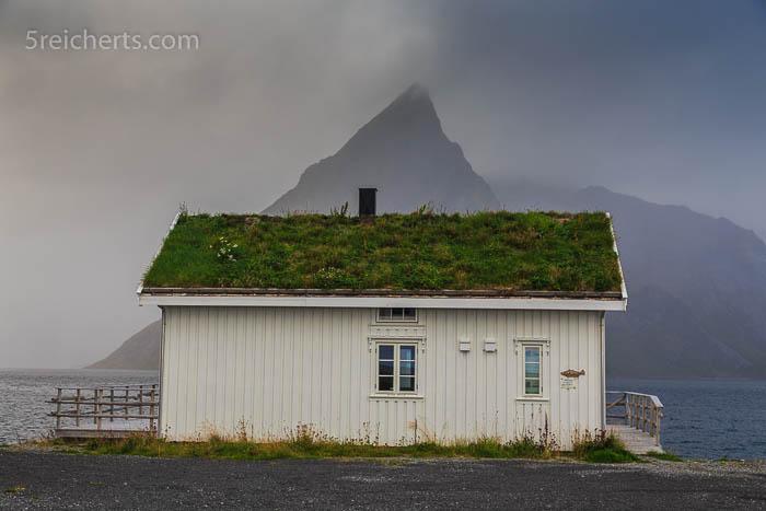 Ferienhütte im Hamnarøy