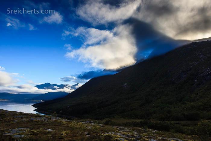 Der Schatten der Bergspitze