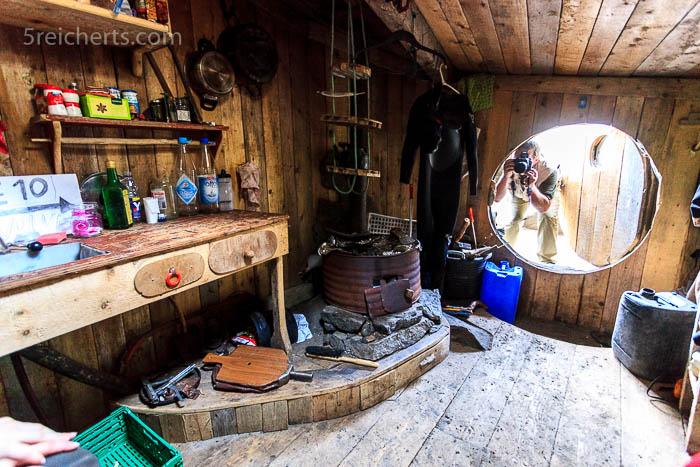Wie sich das für ein Hobbit-Haus gehört, ist die Tür rund!