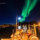 Der Hafen von Hovden