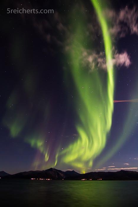 Was für eine Aussicht! Nordlichter in Lodingen
