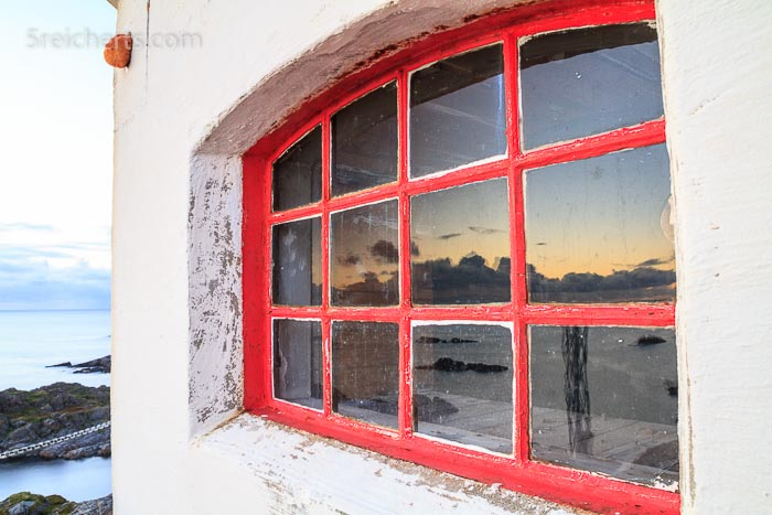 Fenster des Leuchtturms