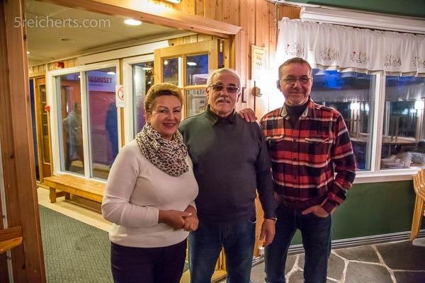 Rimma, Vladimir und Tor Andreas