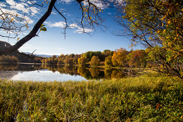 Herbst am See, Harstad