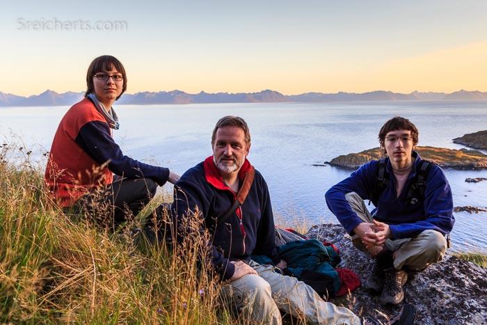 Amy, Noah & Gunter beim Ausflug