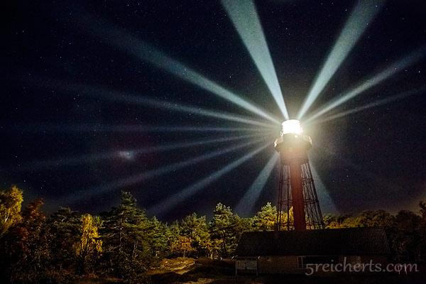 Leuchtturm Sandhammaren im Wald