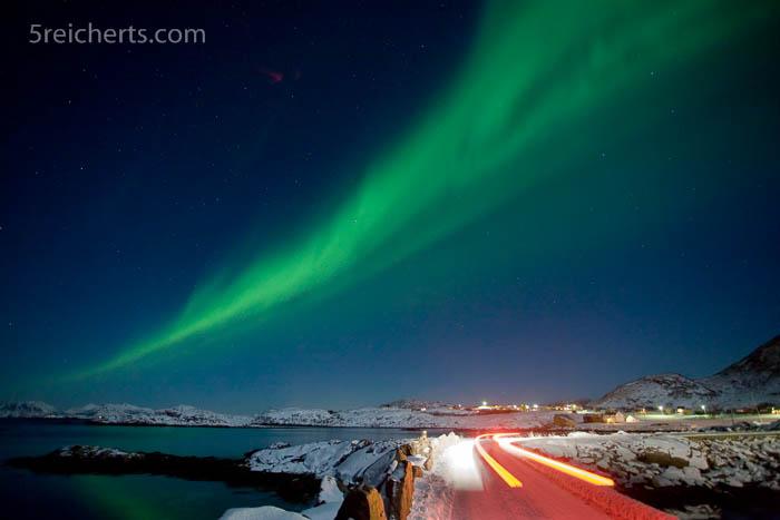 Nordlicht in Stø