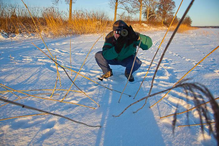 Skihose und Winterjacke