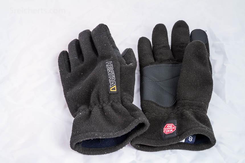 Winddichte Handschuhe mit der ich die Kamera bedienen kann