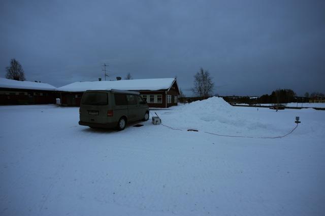 VW Wintercamping