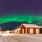 Nordlicht in Luleå, Schweden
