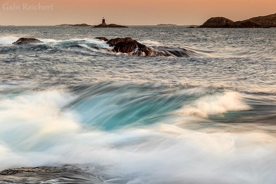 Wellen in Stø, Norwegen