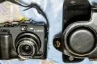 Canon Powershot G 15 mit Tragegurt und Tasche