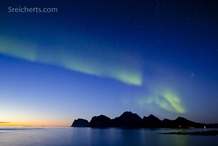 September, Lofoten