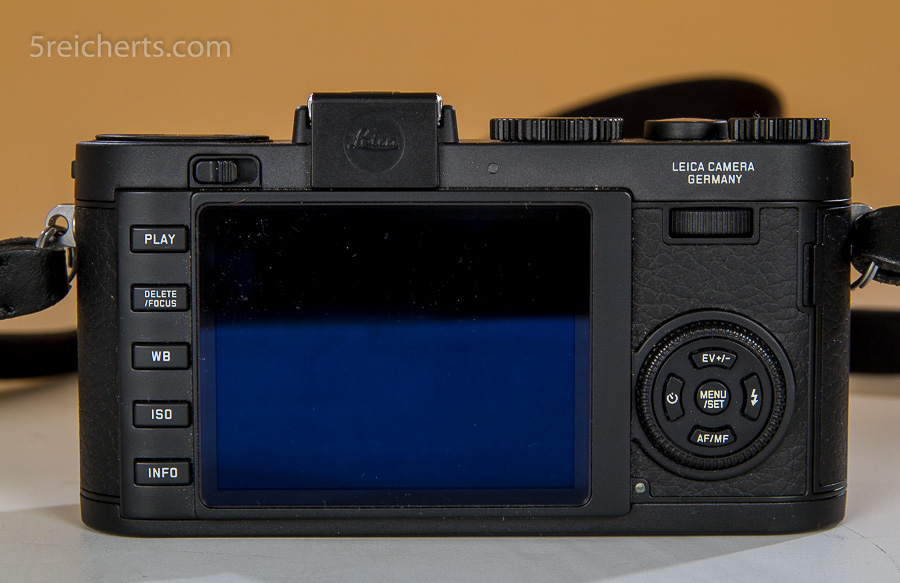 Leica X2 Rückansicht