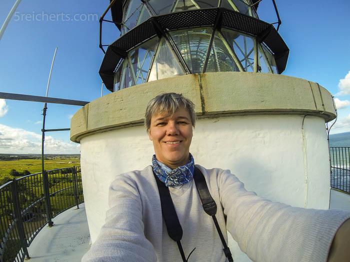 Selfie auf dem Leuchtturm in Hirtshals