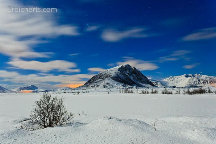 Winterlandschaft auf den Lofoten