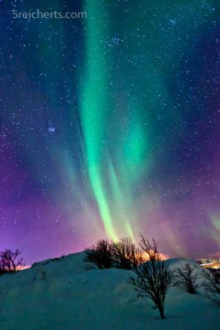 Nordlicht bei Neumond