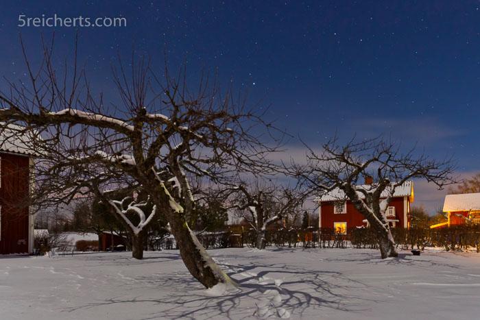 Schatten in der Nacht, Schweden