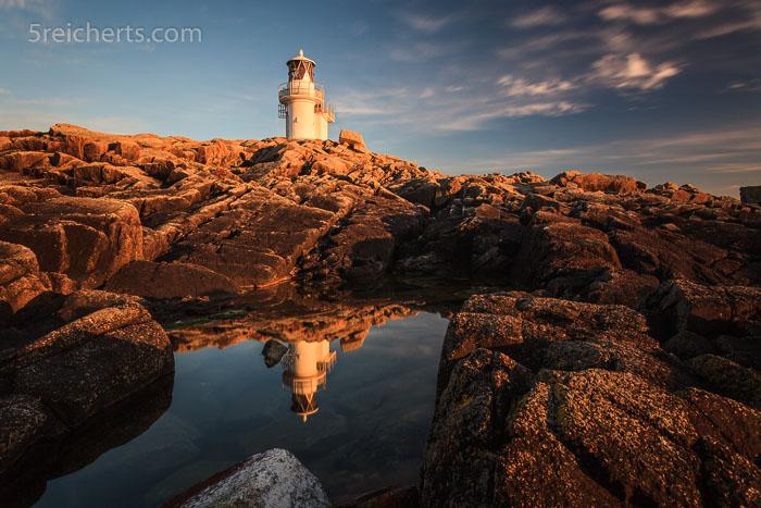 Gezeitenbecken und Fugla Ness, Lighthouse, Hamnavoe, Shetland