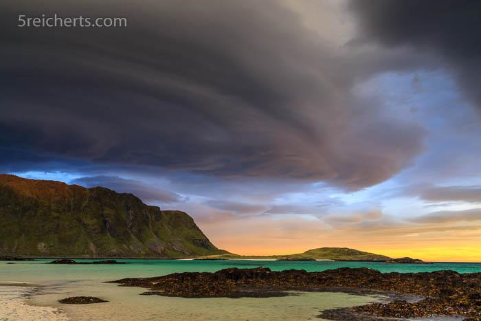 Strand bei Fredvang, Lofoten
