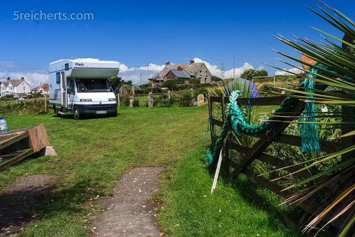 Unser Wohnmobil auf Henrys Farm