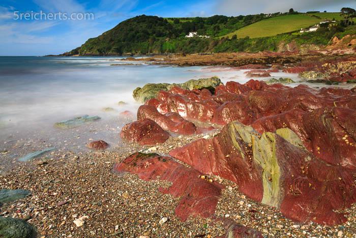 außergewöhnliche Felsformationen, Talland Beach