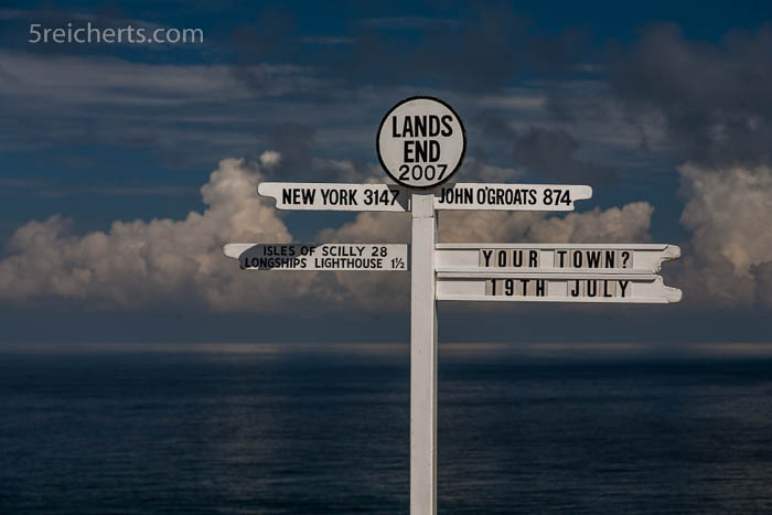 So ein ähnliches Schild sahen wir auch in John o' Groats
