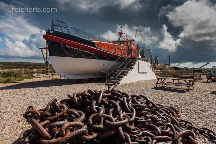 Gute Idee - ein Rettungsboot der Küstenwache zum Anschauen und Spielen