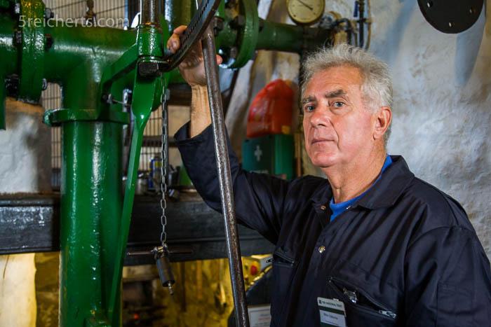 Führung in der Levant Mine, Cornwall