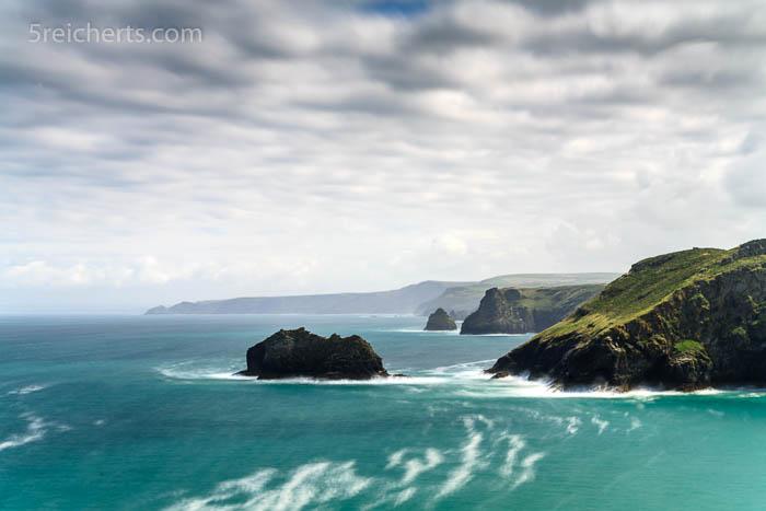Küste bei Tintagel, Cornwall