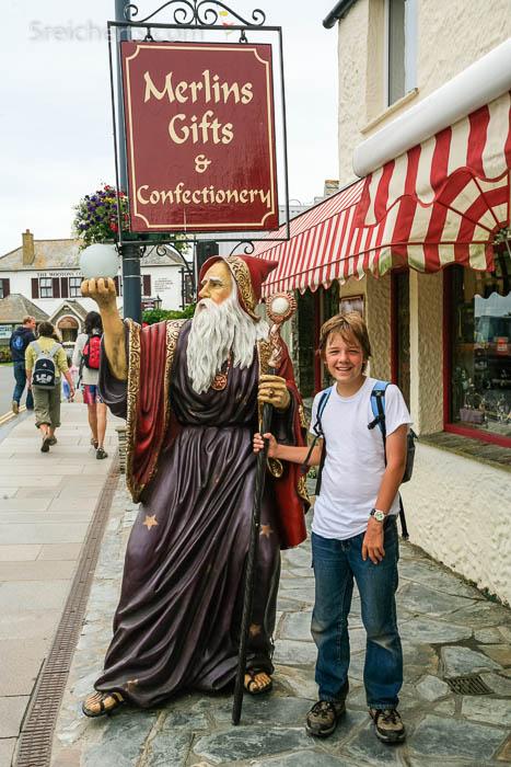 Esra Merlin und der Zauberer, Tintagel, Cornwall