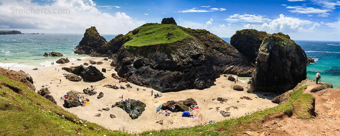 Kynance Cove, ein sehr außergewöhnlicher Strand