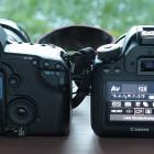 Vergleich Canon D6 und Canon 5 D MII