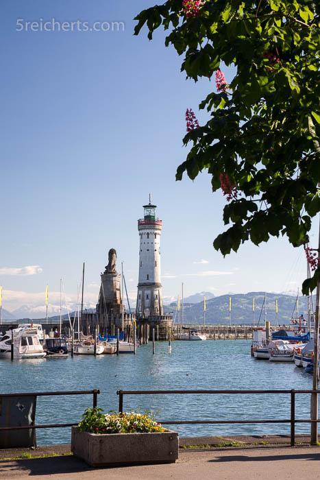 Leuchtturm und Löwe, Lindau