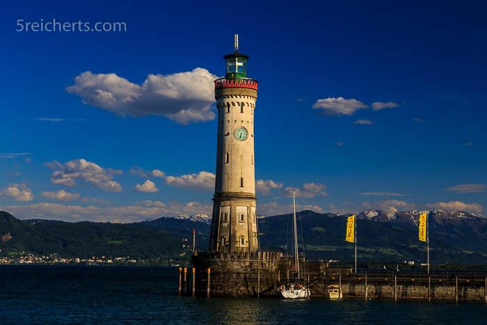 Leuchtturm in Lindau am Bodensee