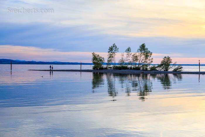 Abendlicht am Bodensee
