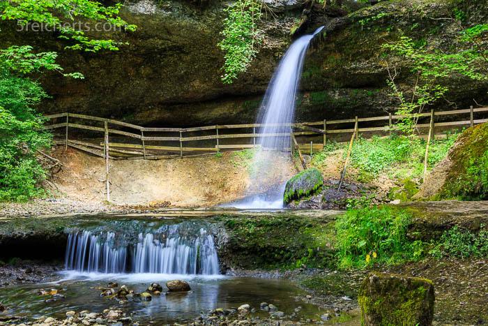 Der kleine Scheidegger Wasserfall
