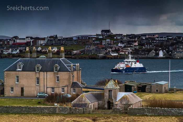 Bressay Fähre und Lerwik, Shetland