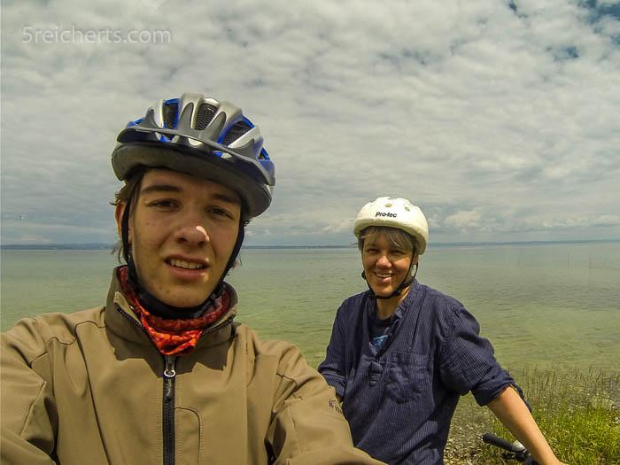 Esra und Gabi am Bodensee in der Schweiz