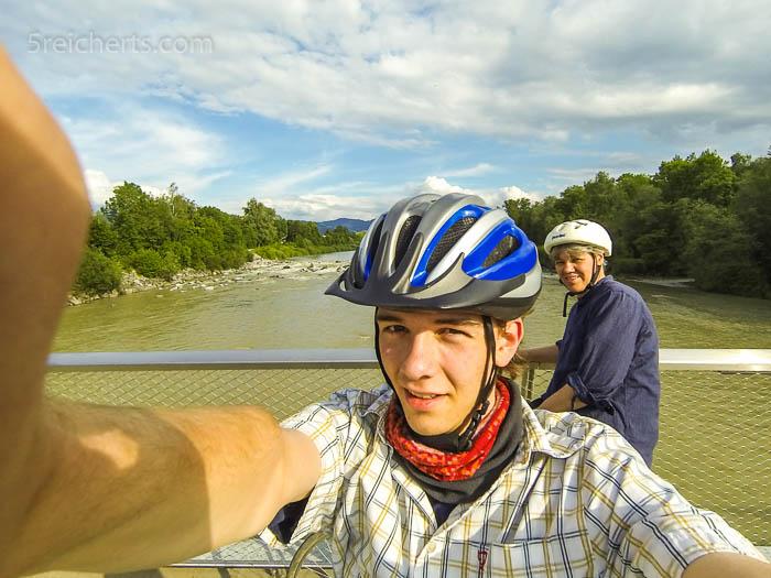 Wir beide kurz vor Bregenz