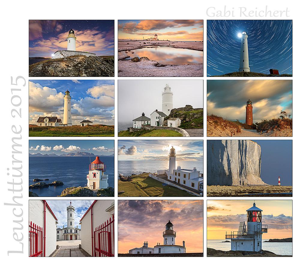 Leuchtturm Kalender 2015, Gabi Reichert