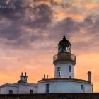 Chanonry Point Lighthouse und Delfine, Schottland