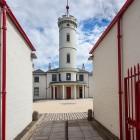 Arbroath Signal Tower Museum, Leuchtturmwärter Haus für den Bell Rock, Schottland