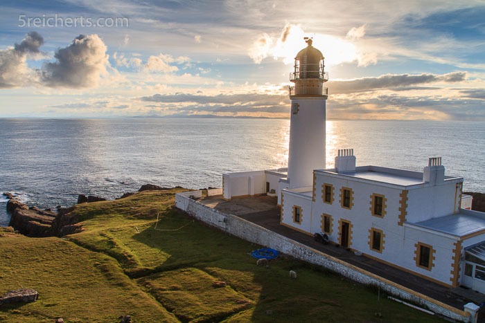 Rua Rheid Lighthouse, Schottland
