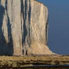 Beachy Head, zwei Leuchttürme an der Steilküste, England
