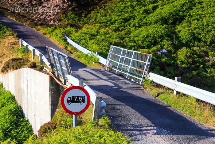 eine der Brücken auf dem Weg zum Leuchtturm
